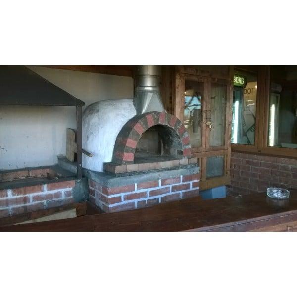 Cuptor Pizza pe Lemne 100 Mail 4 6