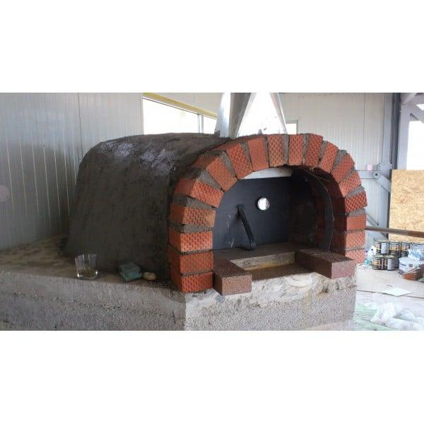 Cuptor Pizza Pe Lemne 120 3