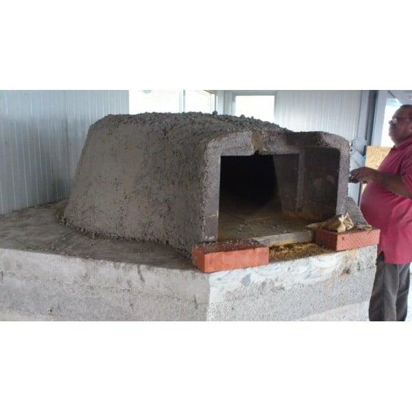 Cuptor Pizza Pe Lemne 120 5
