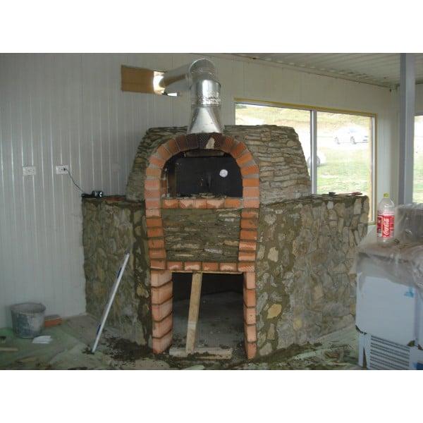 Cuptor Pizza Pe Lemne 120 2