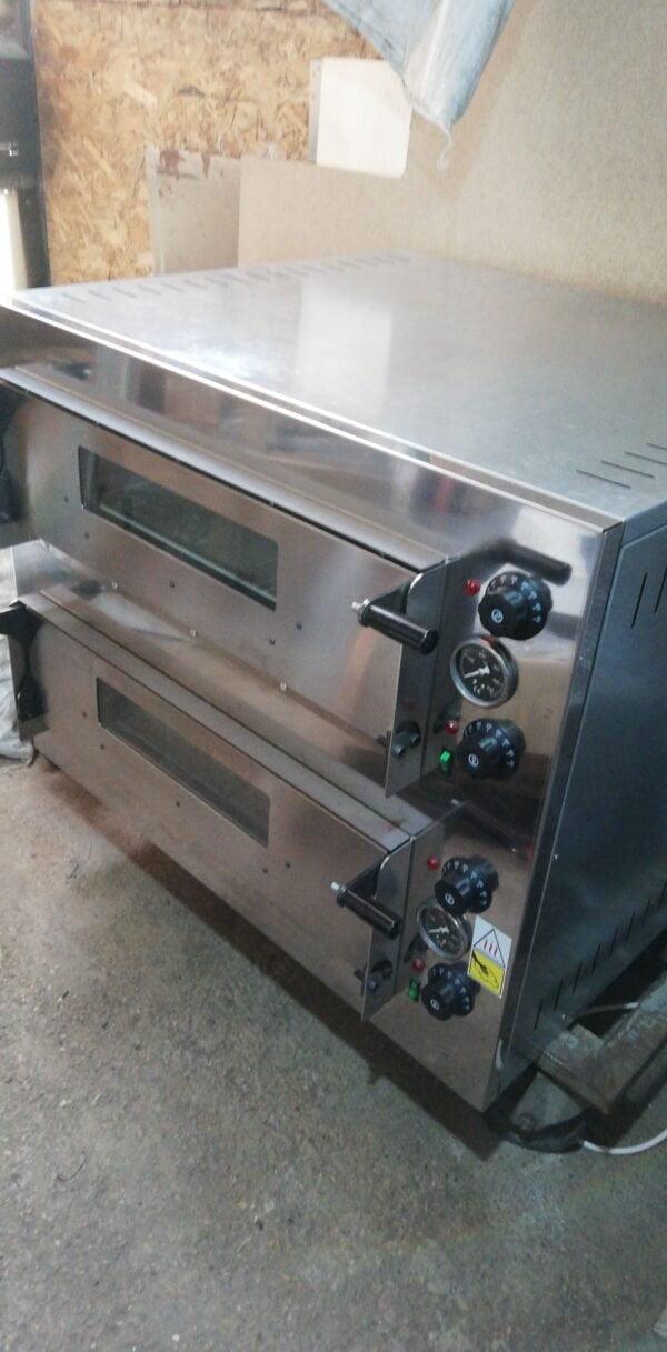 Cuptor Pizza Electric Pret 4+4 de 32cm 1